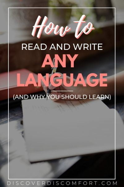 One of the best ways to learn a language is by learning how to write an read. Knowing this will improve your ability to learn a language fast. This is how you can learn how to read and write in some of the most difficult languages - Chinese, Japanese, Arabic.