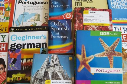 How to Learn Languages using All The Books