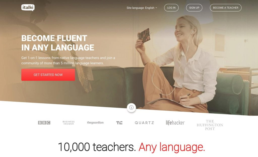 How to Use Italki to get Online Language Tutoring and get fluent in Chinese