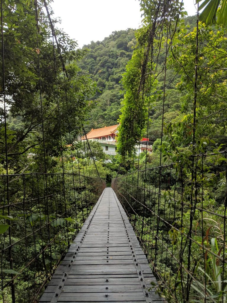 Guide to Taroko - Hiking - Bridge