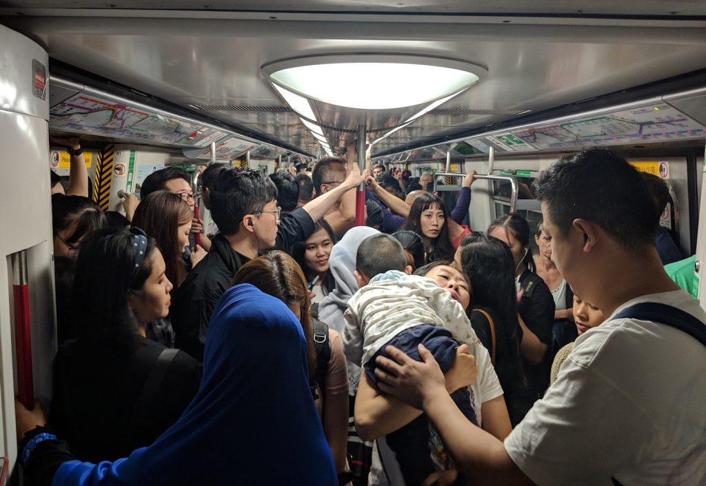 Being Chinese - Hong Kong - Subway