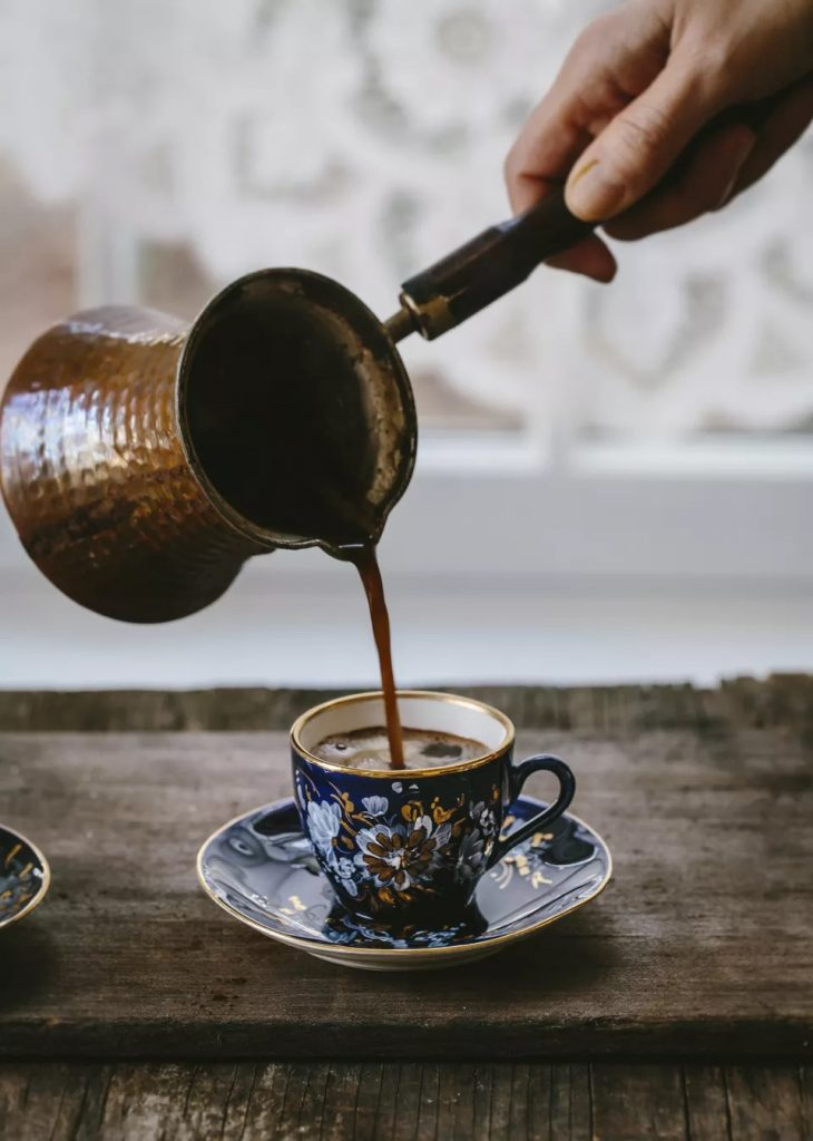 How to serve Arabic Coffee (aka Turkish Coffee)