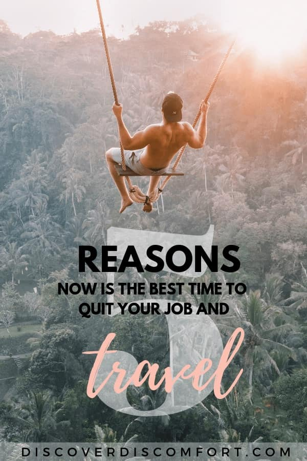 Do you keep hearing of people quitting their job to travel full time? The idea sounded impossible to us, but now we feel crazy not having done it earlier. Find out what helped us take this life changing leap and see why you should too!