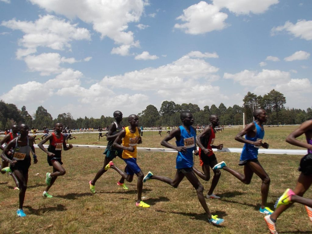 Runners in Kenya. Kenya and Tanzania are the main two countries where Swahili is spoken.