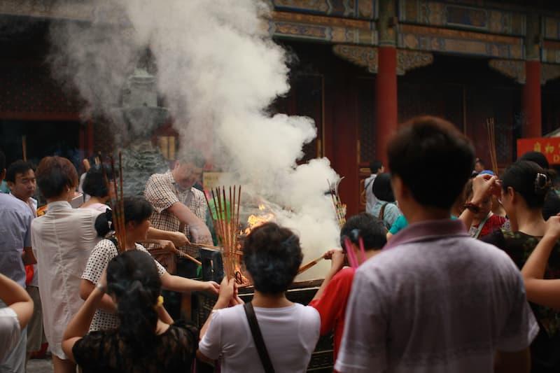 china wudaoying hutong temple