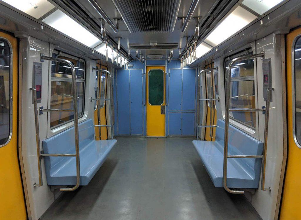 Discover Discomfort - Living in Cairo - Empty Metro before Noon Prayers
