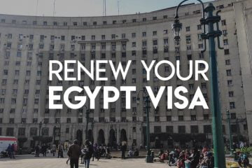 How to renew your Egypt Visa