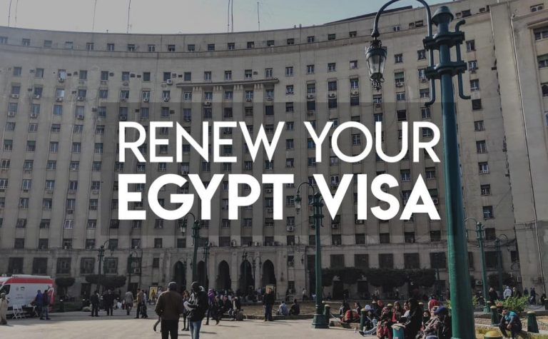 How to renew your Egypt Tourist Visa (June 2020)