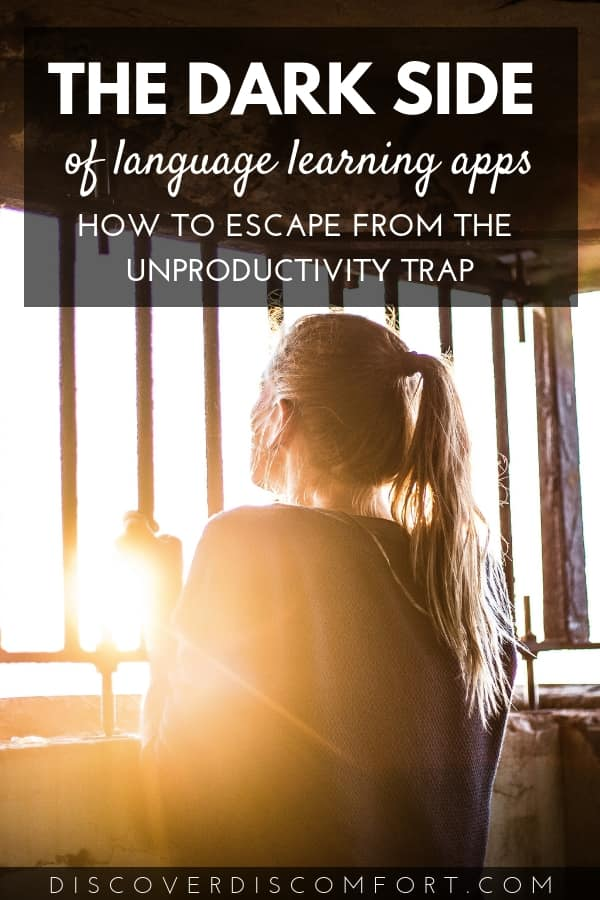 In the beginning, every app is great. You go from zero to ten really fast learning new words and phrases thanks to their innovative and intelligent algorithms. But there's a dark side to gamified learning: it's a trap of unproductivity. If you're reading this, it's likely you've been there before. Read more on how to get unstuck and actually learn a language.