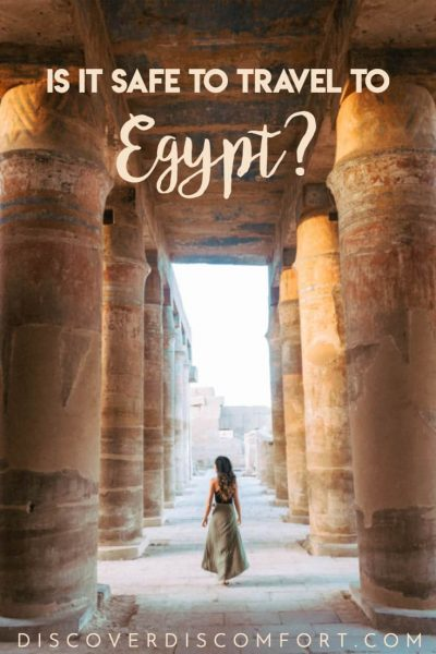 """""""Stay safe."""" This is what people often tell us when we tell them we're in Egypt. We understand why. The media often paints a one sided picture of what events look like around the world. Here's our unfiltered observations from our time in Egypt so you know what to expect for your visit."""