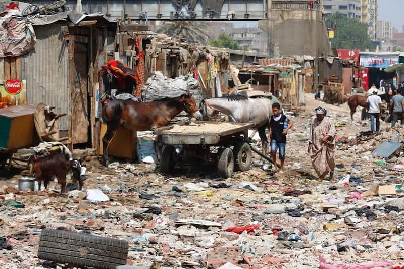 Neighbourhoods of Cairo - Dokki Slum