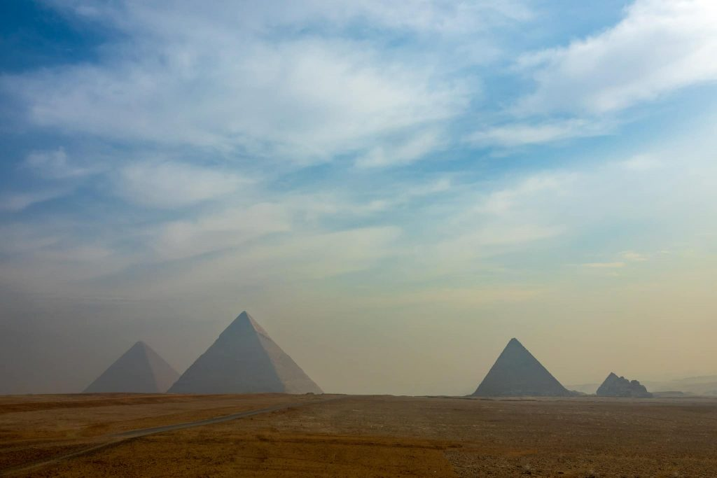 One of the top things to do in Cairo is to visit the Pyramids of Giza.