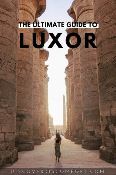 Luxor is often described as being a museum unto itself and a must visit if you're in Egypt. With all that history around you, and the inevitably limited time, it's important to know what to see for the best experience. We put together a lot of research and spent days looking through the best sites and have put together this guide to save you as much time and money as possible.