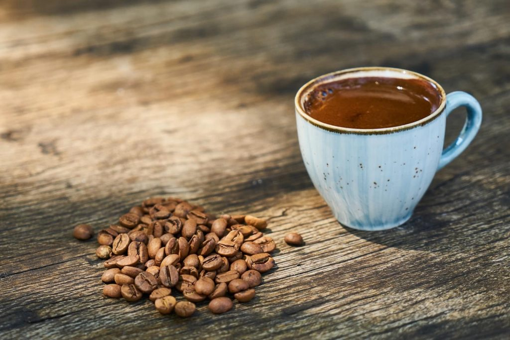 Arabic Coffee as prepared in Turkey