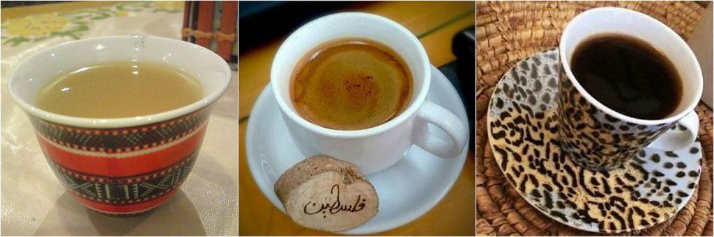 Different types of Arabic coffee - Peninsular vs Levantine