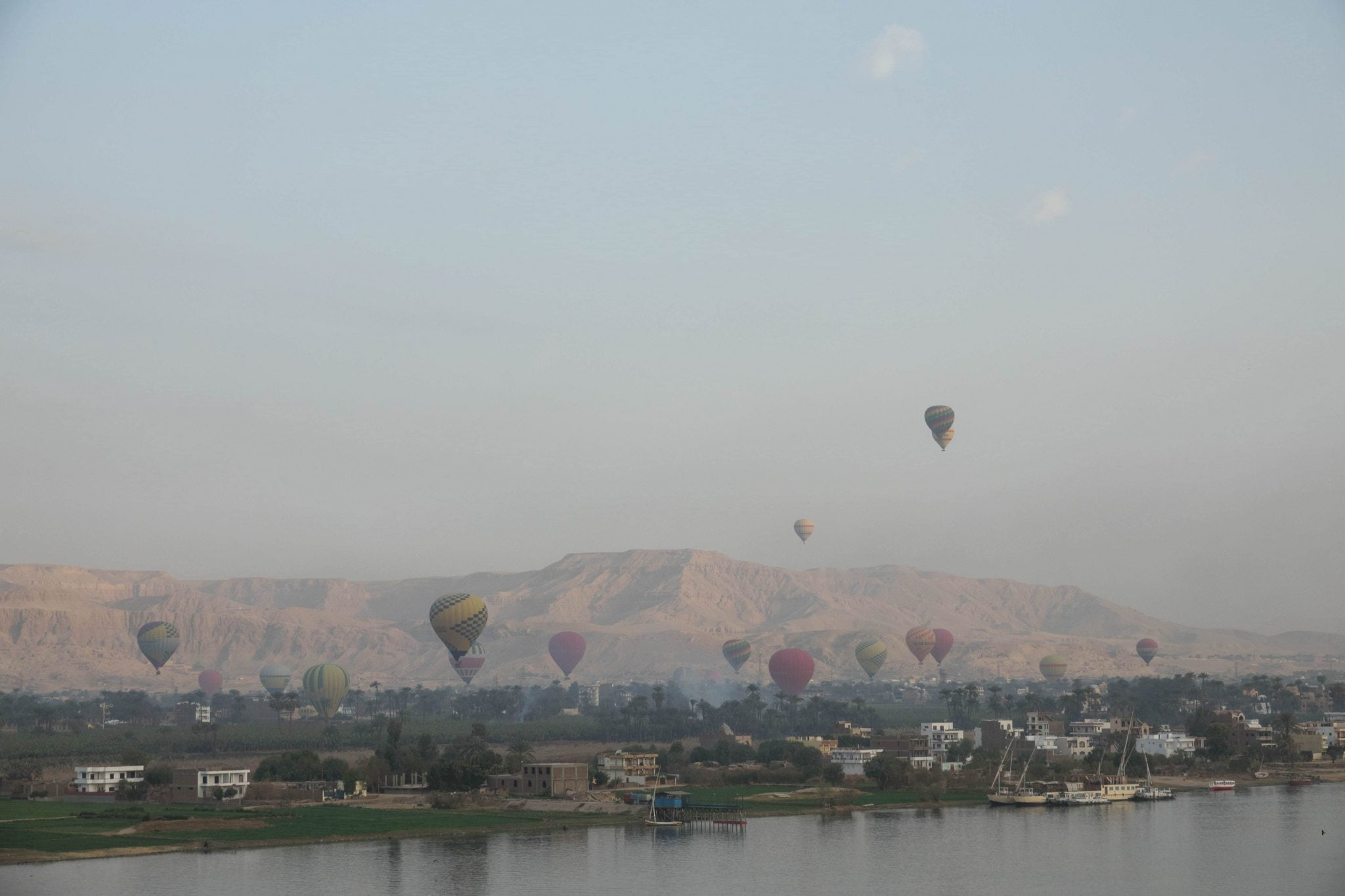 nile river luxor