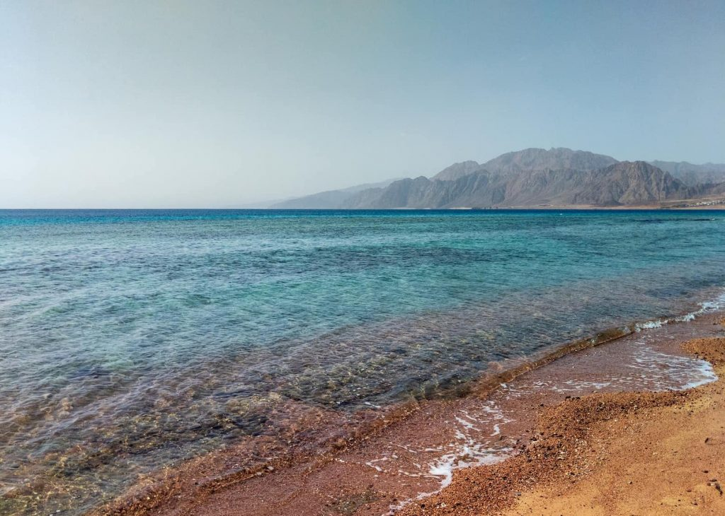 The water at Dahab