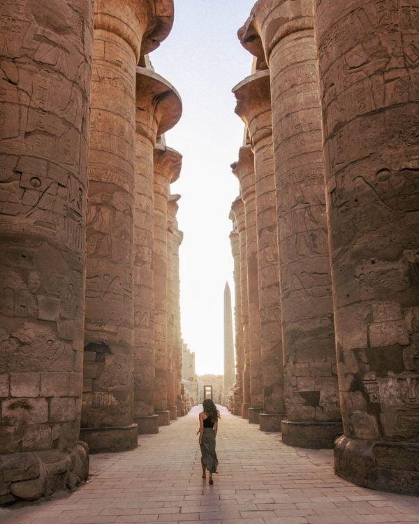 Karnak Temple Luxor Sunrise