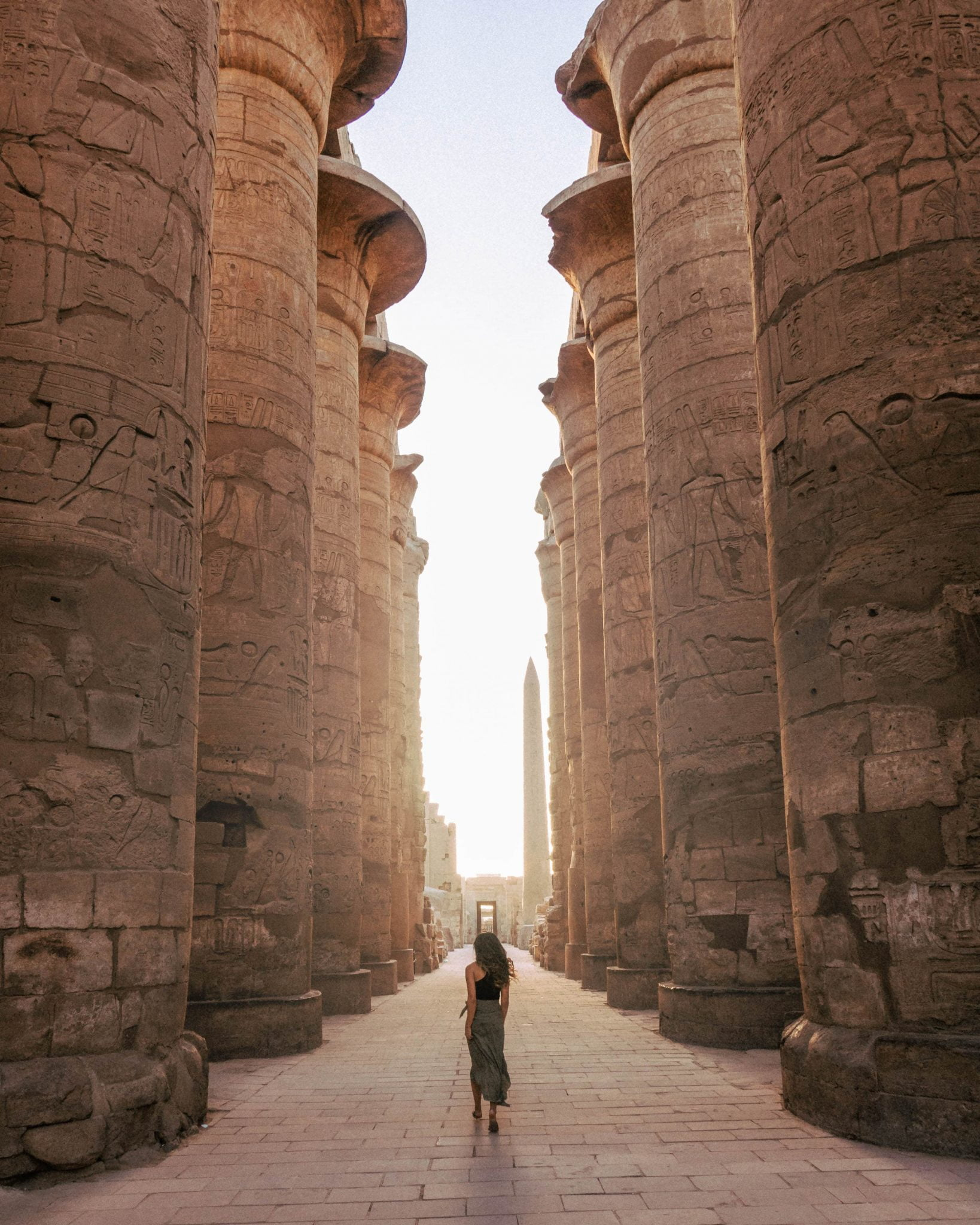Karnak Temple Luxor Sunrise