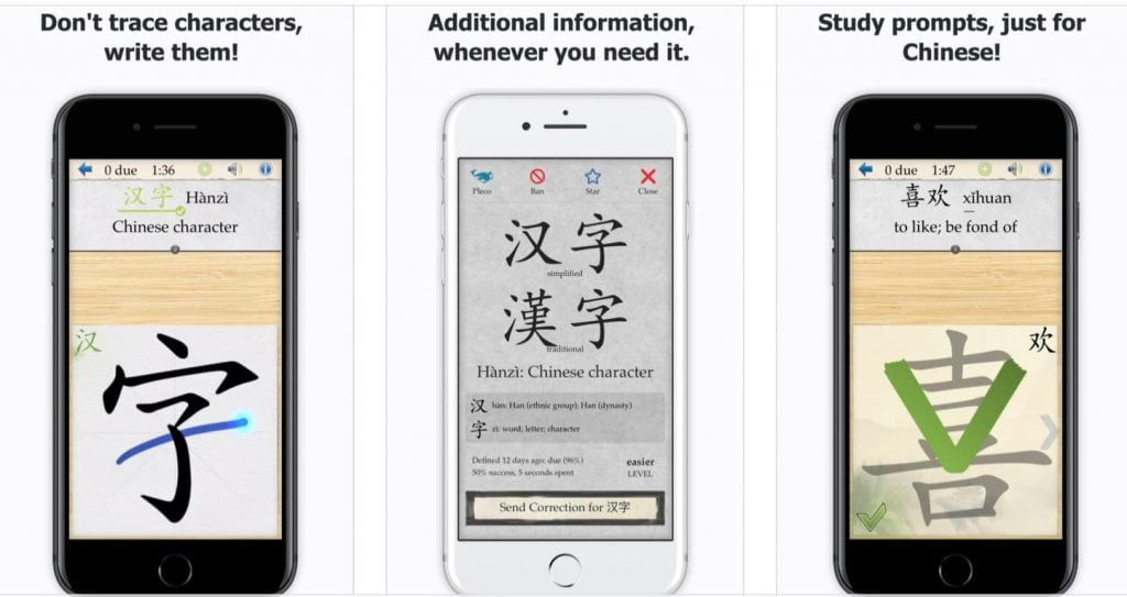 Master learning to write (and read) Chinese characters with Skritter.