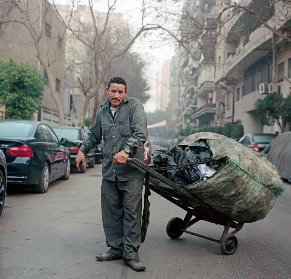 Sayyid Ahmed, a garbage worker in Cairo, profiled in The New Yorker.