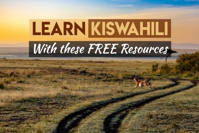 The Very Best Free Swahili Resources — What We Used