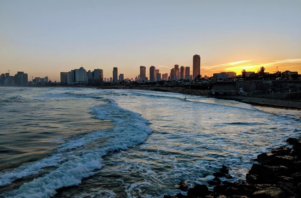 Tel Aviv is a very liberal city, definitely the most left-leaning city in Israel.