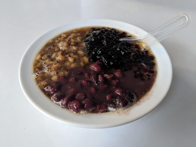 Dessert in China is mostly bean soup and tofu, which is great, but not what you're used to if you're from the west.