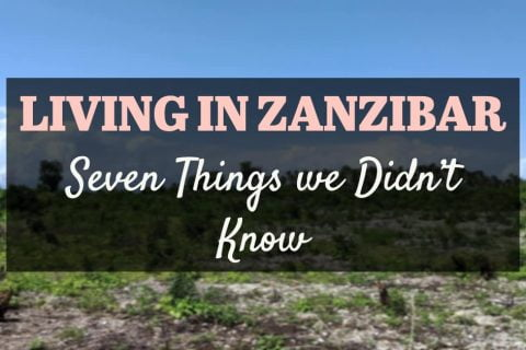Seven Things we Didn't Know about Living in Zanzibar - Facebook cover photo