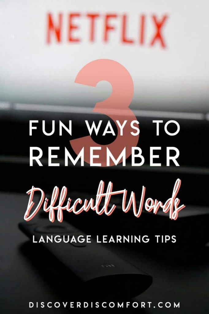 """No matter how you try to learn words in a foreign language, there are always some words that get """"stuck"""". You just can't memorise them. If you use flashcards, you keep seeing the same words over and over. The word is just at the tip of your tongue. If this sounds like you, here are 3 tips and tricks to get these tricky words to stick!"""