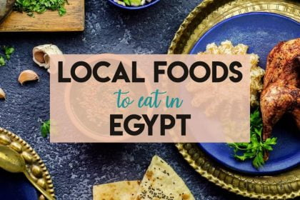 Cairo Egypt Must-East Local Foods - Kebab, Shawerma, Vegetarian options