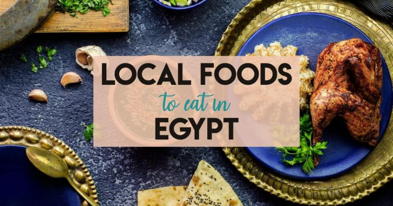 The Best Local Foods to Eat in Egypt