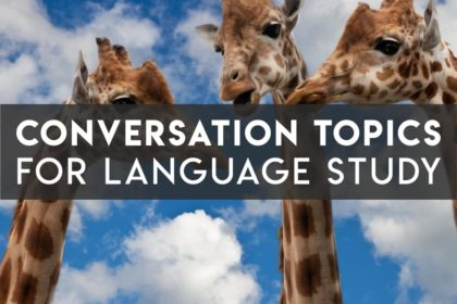 Language Conversation Topics for Learners that Aren't Boring - cover image