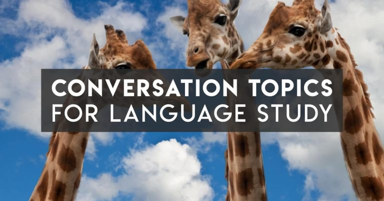 Language Exchange Conversation Topics that Aren't Boring