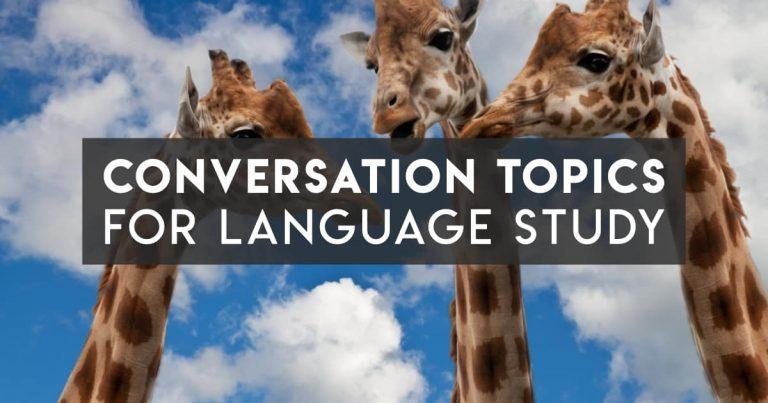 Language Exchange Conversation Topics that Aren't Boring
