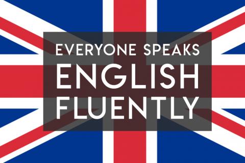 """Do Kenyans, Singaporeans, Filipinos, Indians and Chinese speak English """"fluently""""?"""