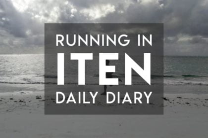 Daily diary of running in Iten