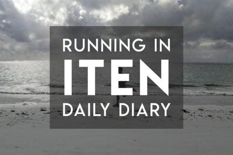 Daily diary of running in Iten