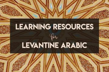 The best resources for learning Levantine Arabic - cover image