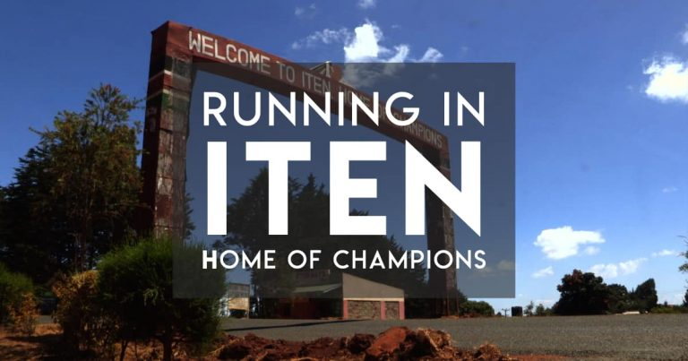 Running in Iten (for amateurs)