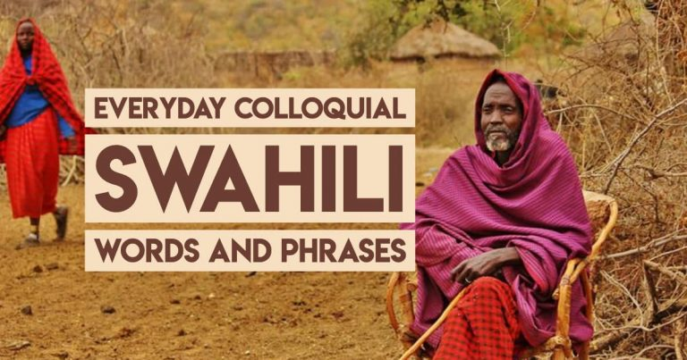 Swahili Phrases and Words for Tanzania and Kenya