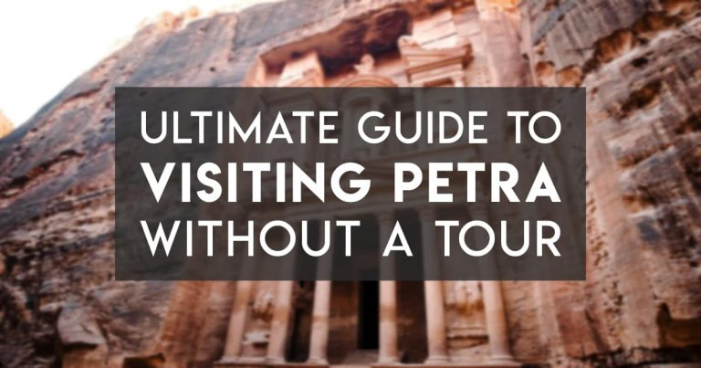 Visit Petra without a Tour – A Comprehensive Guide