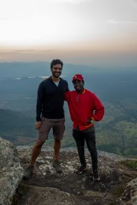 Our guide for hiking the Usambara mountains in Tanzania - Dennis Munga