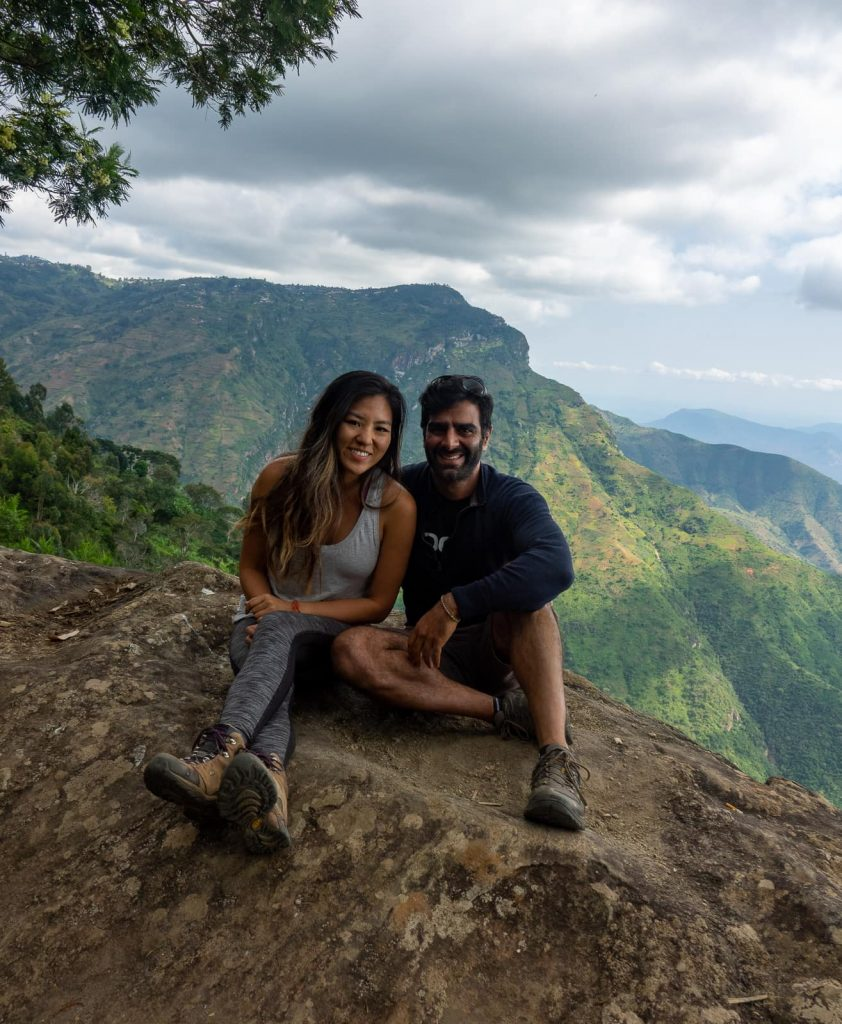 Hiking the Usambara Mountains in Tanzania - The view at Mambo Point at the end of thethirdday