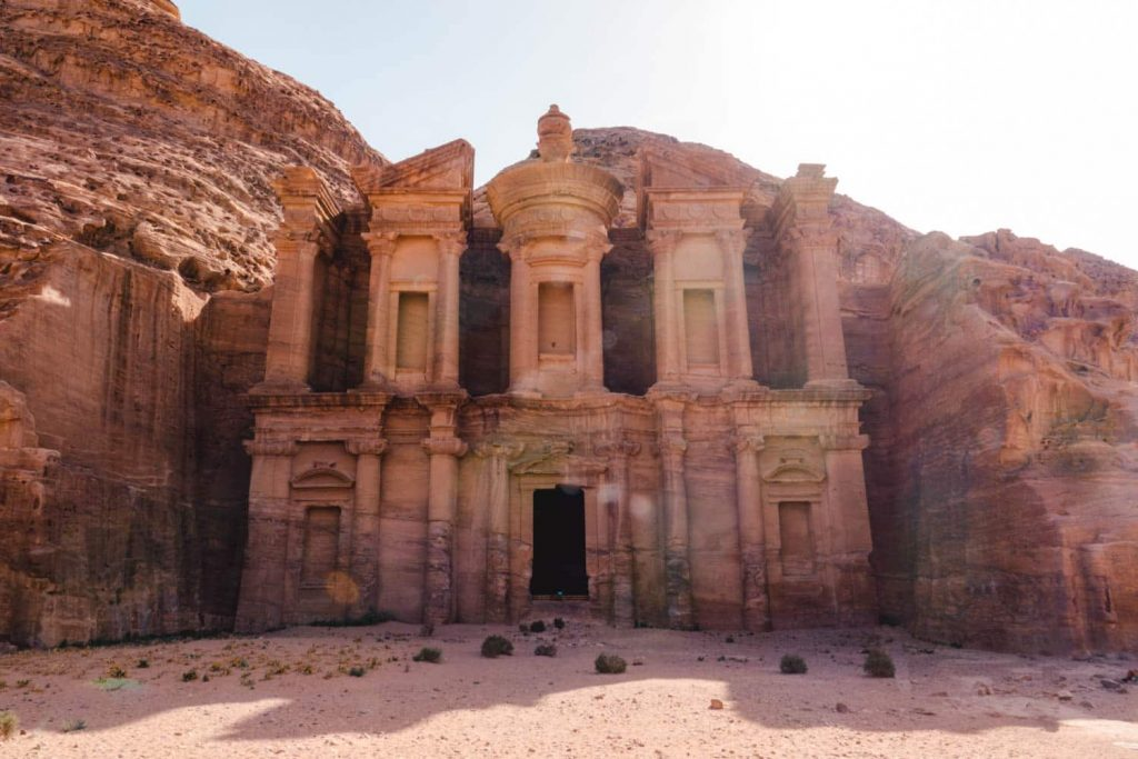 Visiting Petra is incomplete without visiting the Monastery!