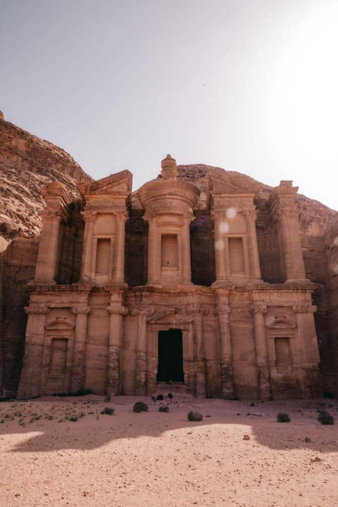 If you're visiting Petra, you have to visit the Monastery. It's a bit of a hike.