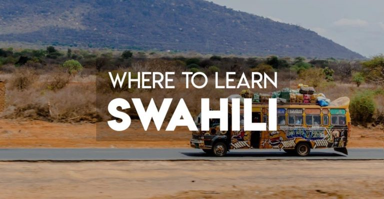 Where is the Best Place to Learn Swahili?