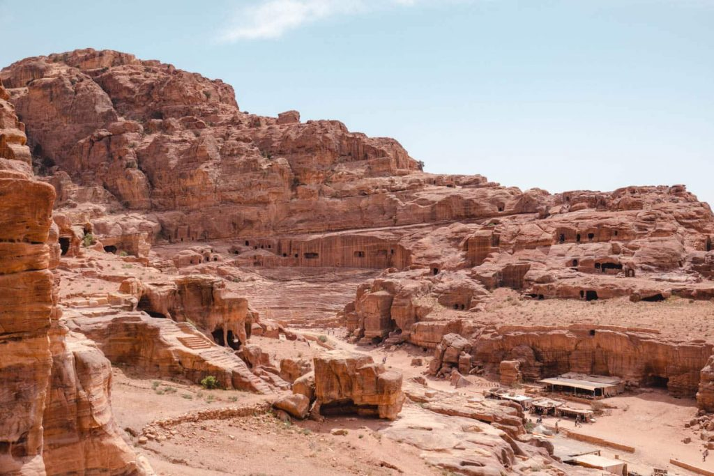 If visiting Petra, you should learn a little about the history, just enough to know the main sites and what they mean. This is a picture of petra's rose coloured rock.
