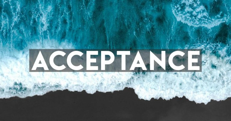 The Gift of Acceptance