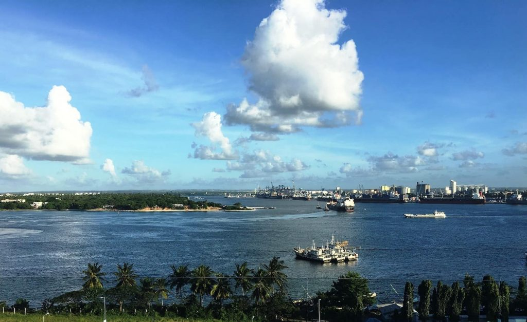 Where to learn swahili in Kenya and Tanzania - Dar Es Salaam city skyline